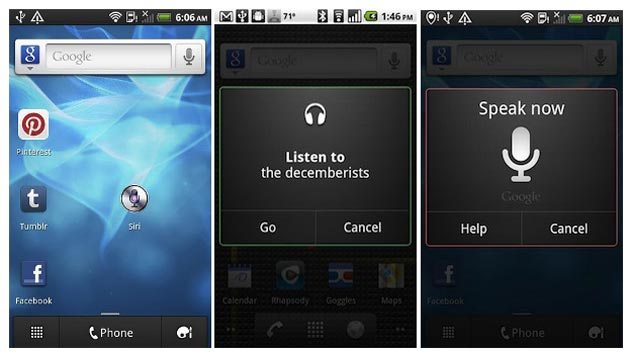 Google retira el 'Siri para Android'