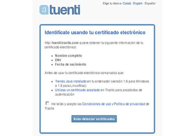 Tuenti soportará verificación de identidades con DNIe