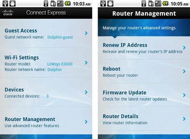 Cisco desarrolla una aplicación móvil para sus routers inalámbricos