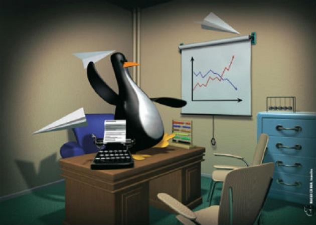 El uso de Linux aumenta en el sector empresarial