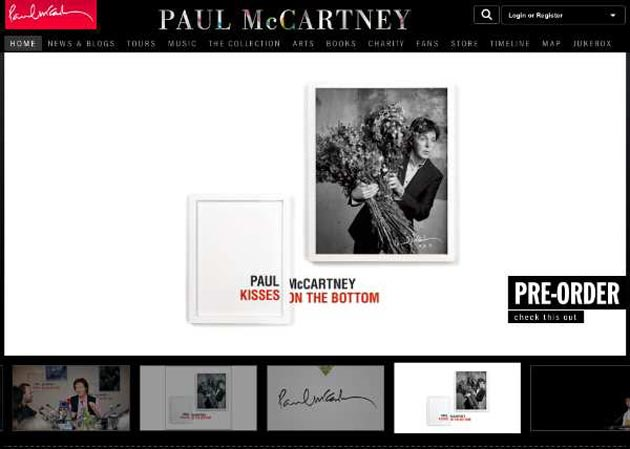 Web Paul McCartney