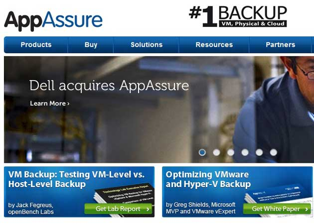 Dell adquiere la firma de software AppAssure