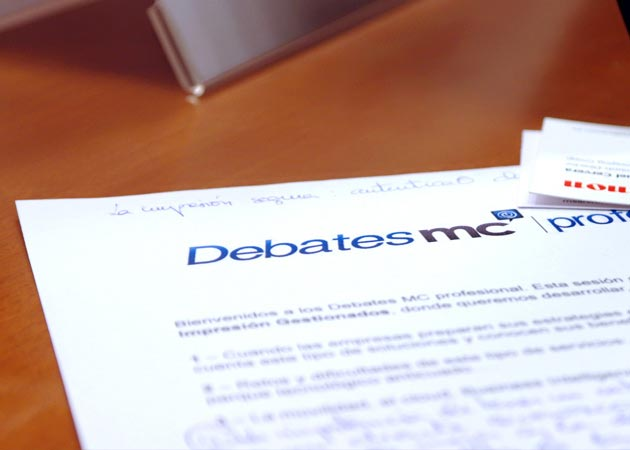 Debate MC: Sistemas de impresión gestionados (MPS), el futuro de la impresión corporativa