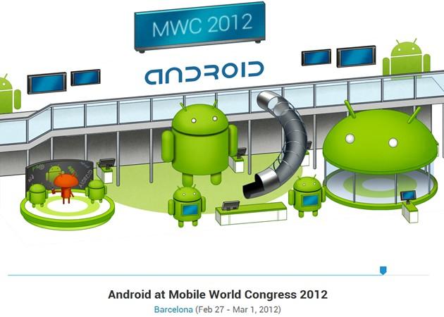 Google presume de Android en el Mobile World Congress