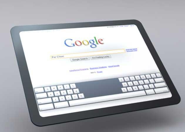 Más detalles del tablet Nexus de Google