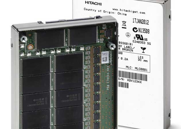Hitachi presenta las primeras SSD con NAND Flash Intel de 25 nm