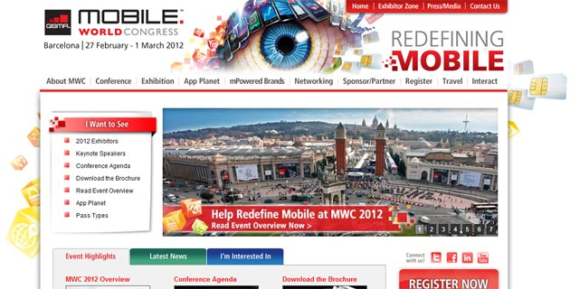 Novedades del Mobile World Congress 2012