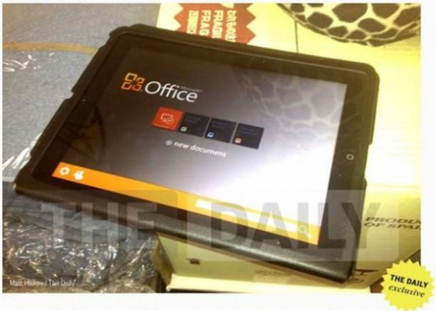 Microsoft Office para iPad, en camino (actualizada)