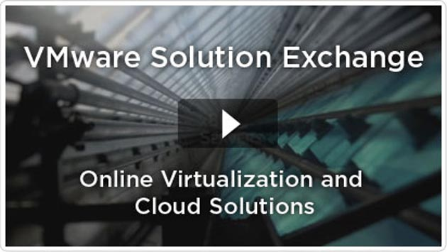 VMware Solution Exchange,