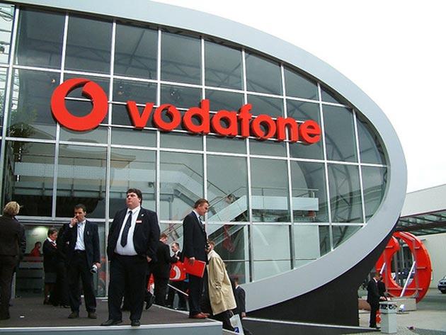 Los ingresos de Vodafone por servicios descienden un 8,8%