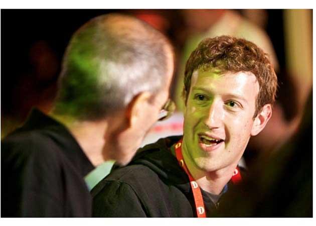 Zuckerberg cobrará de Facebook un dólar en 2013