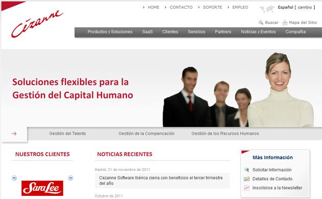 Cezanne Software Ibérica crece en 2011, apostando por la gestión cloud de los RR.HH