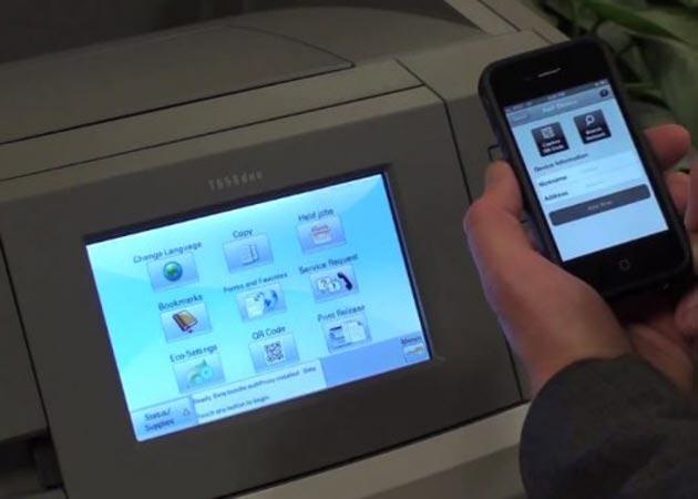 Lexmark Mobile Printing, para imprimir desde el móvil