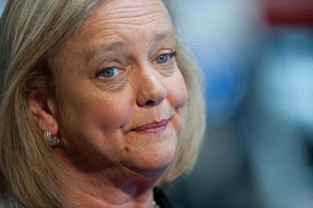 """Whitman dice que HP se está recuperando de los últimos """"errores"""""""