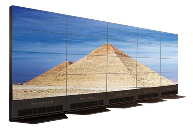 Samsung y Charmex presentan monitores LED de gran formato