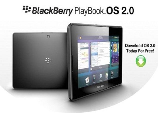RIM ha anunciado que BlackBerry PlayBook OS 2.0 ya está disponible