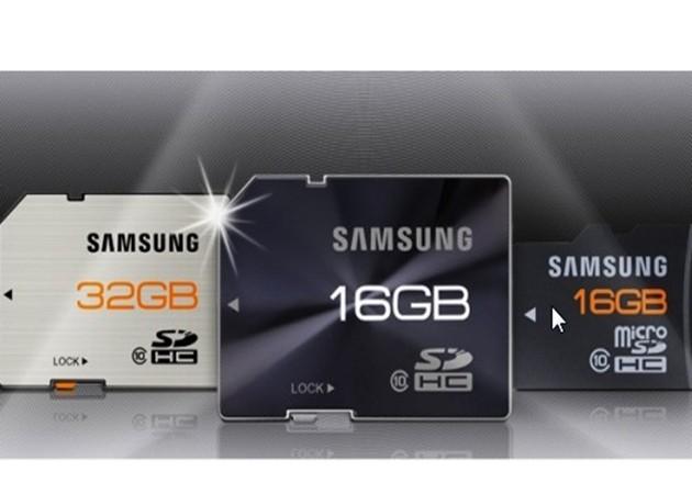 Samsung presenta nueva línea de memorias SD y microSD