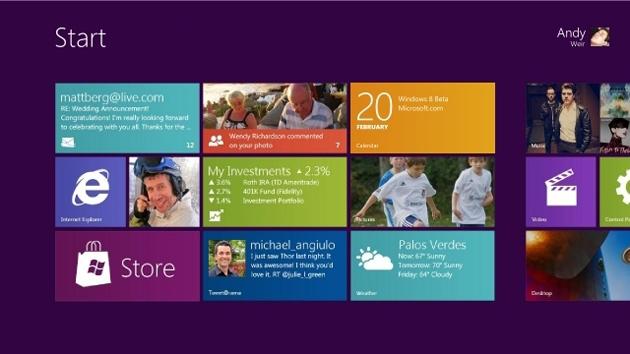Ya está disponible la descarga Windows 8 Consumer Preview