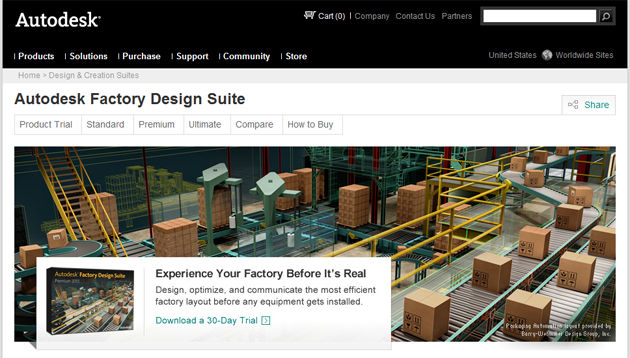 Autodesk Factory Design Suite.