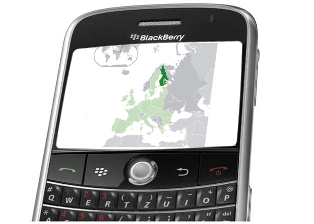 Las BlackBerry llegan a Finlandia