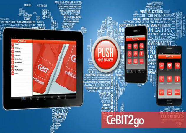 CeBIT2go: aplicación oficial