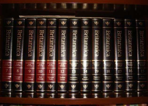 La Enciclopedia Británica sólo en Internet tras 244 años
