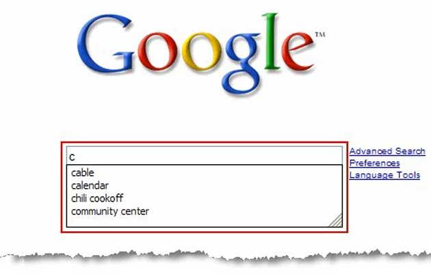 ¿Viola la intimidad el autocompletado del buscador de Google?