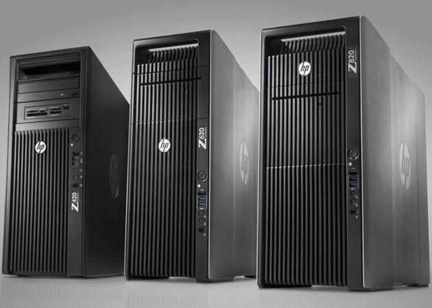 HP presenta nueva línea workstation Z con Xeon E5