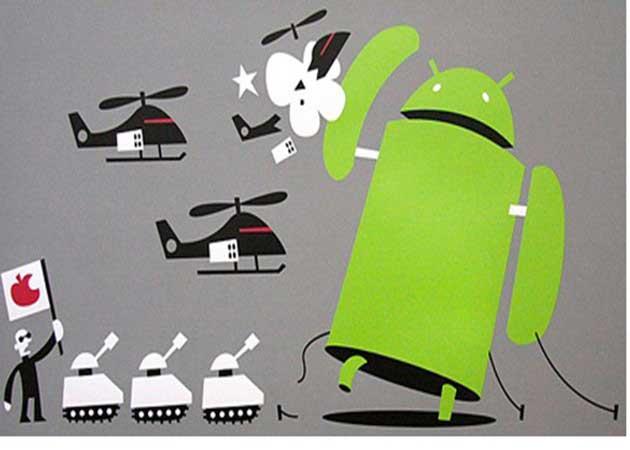 Apple reclama a Samsung y Motorola 15 dólares por terminal Android