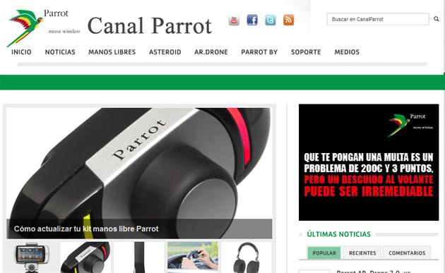 Nuevo Canal Parrot, información especializada de primera mano