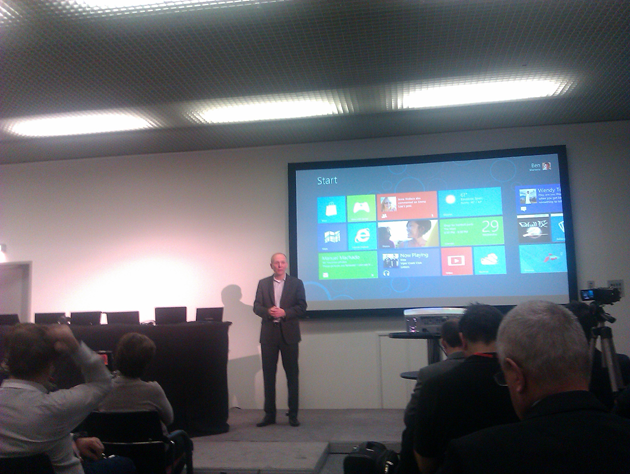 Windows 8 en cebit