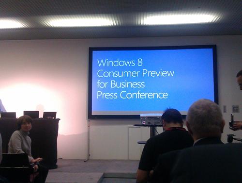Windows 8 en cebit