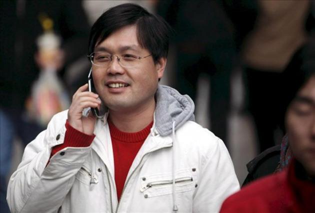 Chinos con móvil