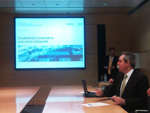 IBM realiza 5.000 proyectos de ciudadanía corporativa en 2011