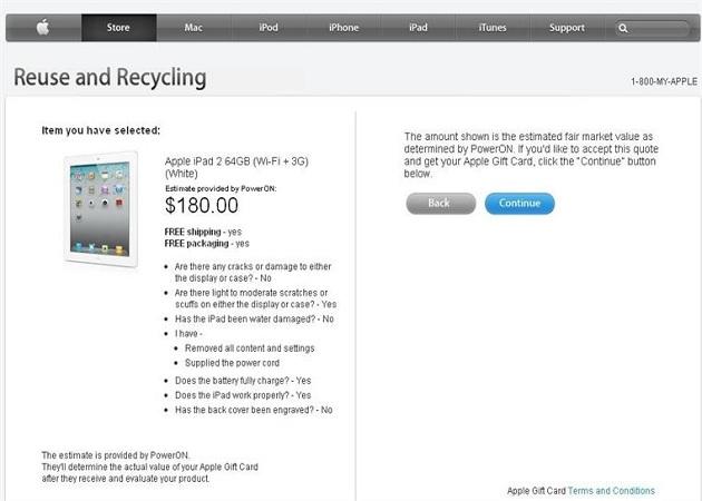 Apple habilita una nueva sección renove para facilitar la compra del nuevo iPad