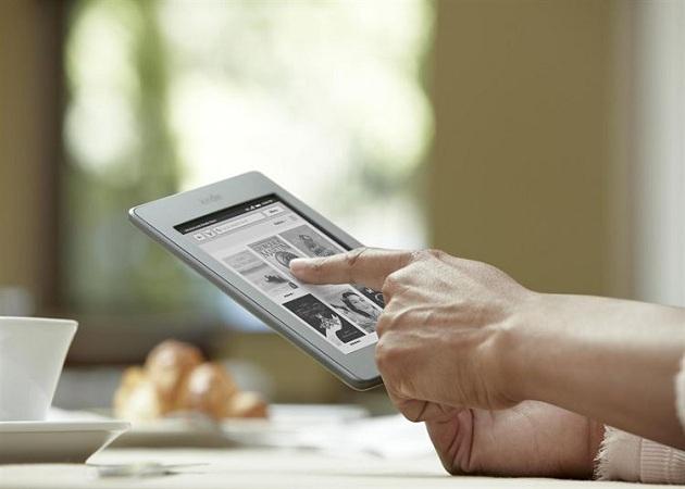 Amazon anuncia la llegada de Kindle Touch a España