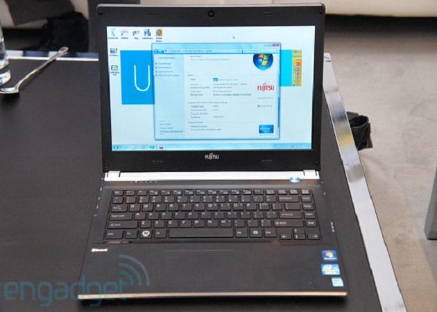 Fujitsu presenta en el CeBIT un portátil que vendrá equipado con Ivy Bridge