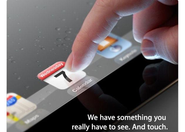 Apple prueba el iOS 6 para el iPad 3