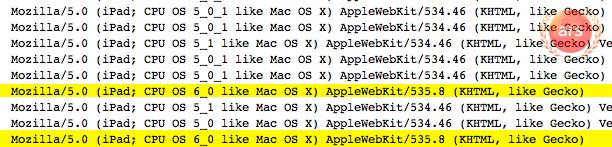 ipad logs 4f50f4e intro Apple prueba el iOS 6 para el iPad 3