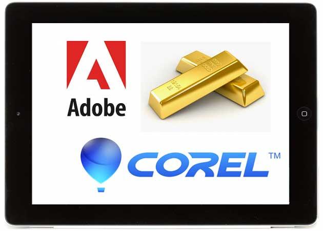 La próxima gran compra de Apple: ¿Adobe o Corel?
