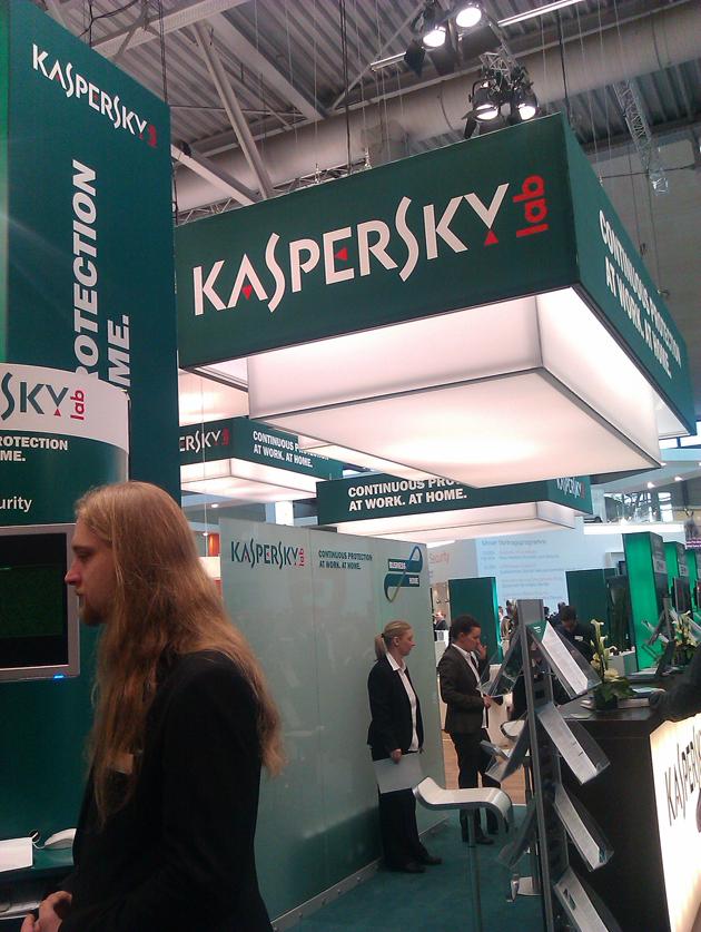 Kaspersky en Cebit