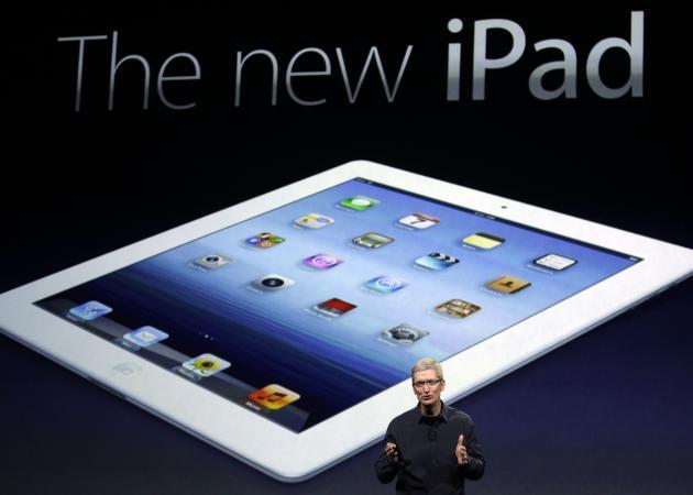 Una demanda sin precedente retrasa la disponibilidad del new iPad