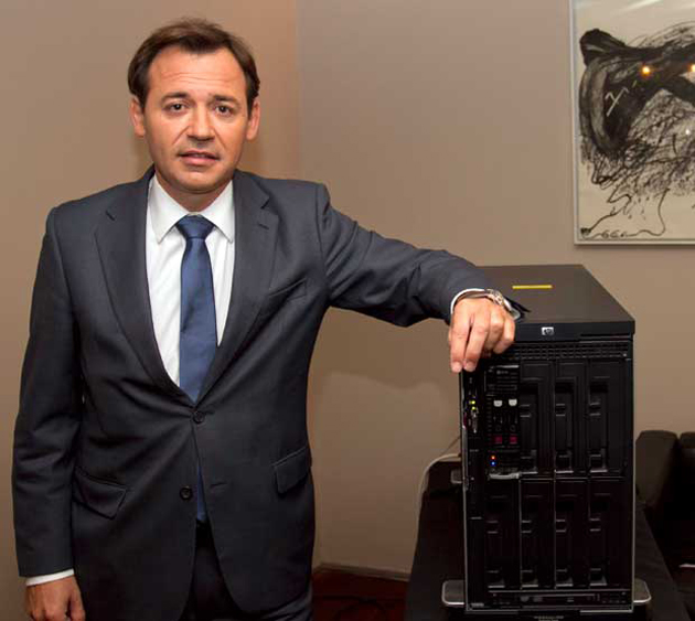 """N. Goicoechea, de ISS HP Iberia: """"Con Moonshot, los centros de datos consumirán hasta un 89% menos de energía"""""""