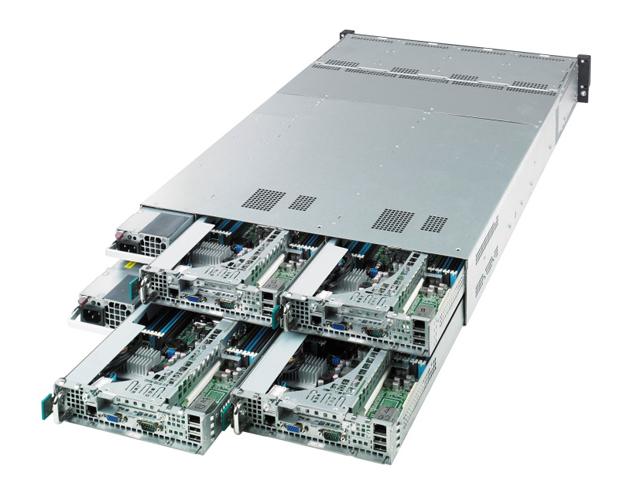 ASUS presenta tres servidores rack con procesadores Intel Xeon E5-2600