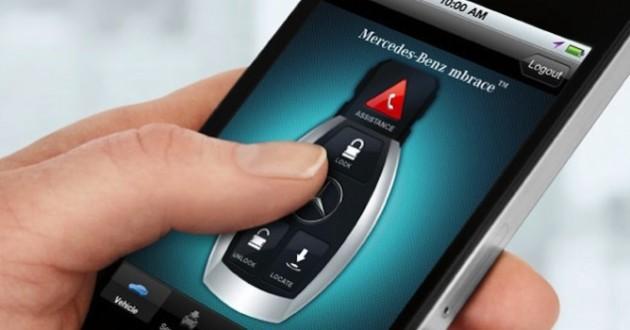 Mercedes mbrace2 para actualización remota desde la nube