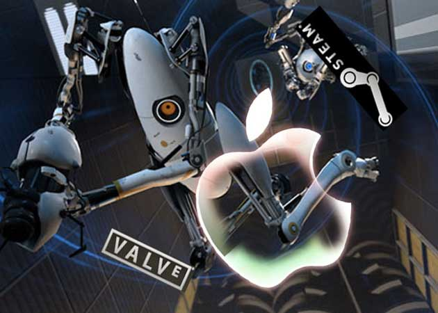 Apple y Valve juegan juntos