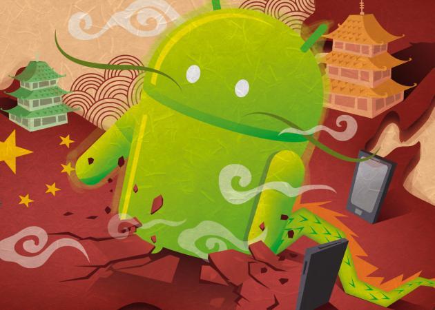 Android también vence a iOS en China