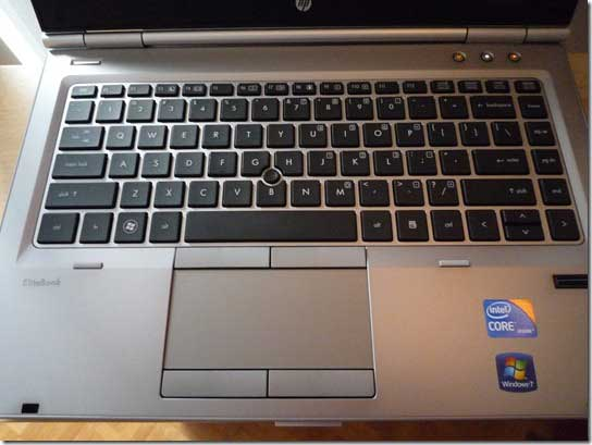 HP EliteBook 8740P, ultraportátil profesional con Ivy Bridge