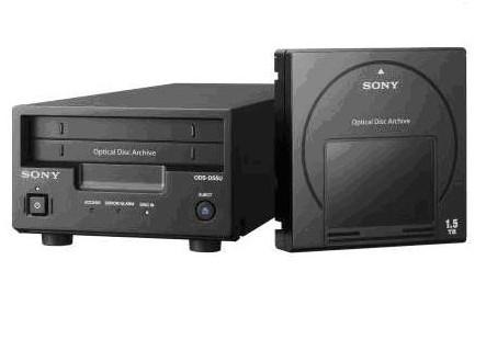 Sony anuncia nuevo sistema de almacenamiento Optical Disc Archive