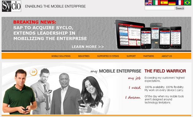 SAP adquiere Syclo, proveedor de aplicaciones móviles empresariales